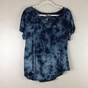 American Eagle Soft & Sexy Blue Gray Large shirt